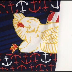 LuLaRoe Pants - 🦅 TC Marine Anchors and Eagles Leggings